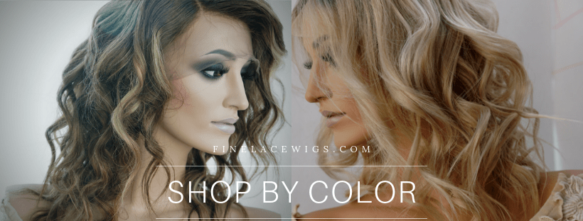 Brown Human Hair Wigs for White